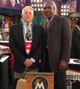 Bill Beck and Andre Dawson represent the Marlins.