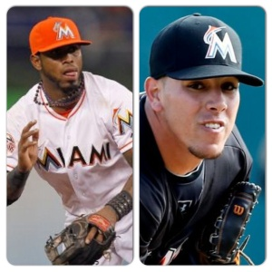 The Marlins intend to wear their red-orange caps more in '14.