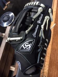 Christian Yelich's glove was swiped from his luggage.