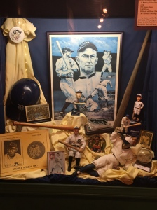 Ty Cobb exhibit from the Ty Cobb Museum in Royston, Ga.